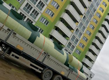 Поставка комплексной системы очистки ТМ «ЭКО-ТРЕЙД» для ЖК Заневка-City в Янино Всеволожского района